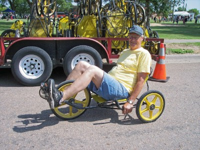 Site Blogspot  Adult Tricycles on The Picture Is From Some Small Town Parade